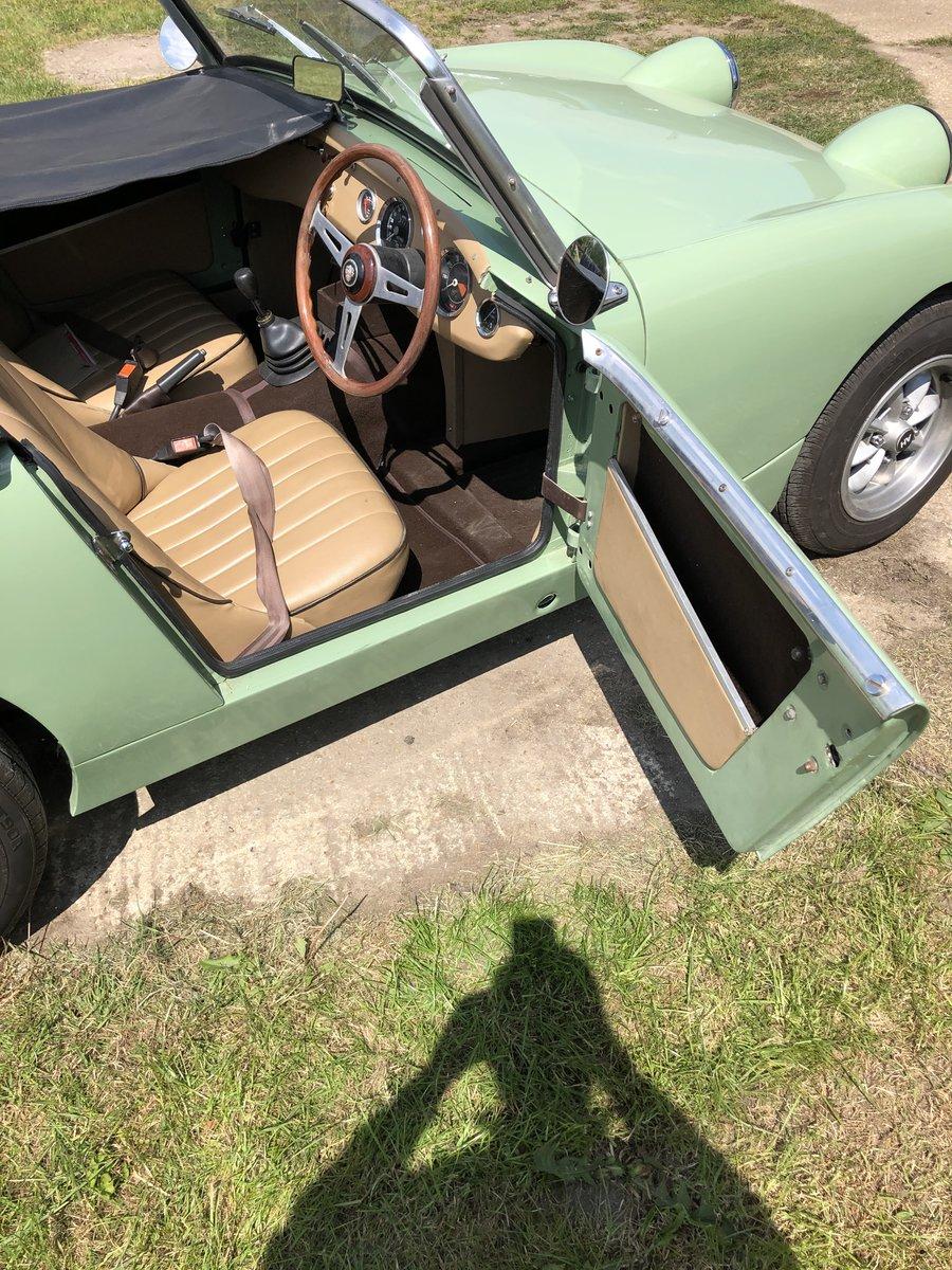 1958 Austin Healey Mk 1 sprite RESTOMOD SOLD (picture 4 of 6)