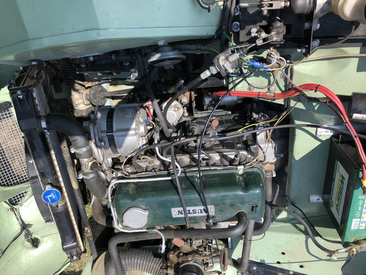 1958 Austin Healey Mk 1 sprite RESTOMOD SOLD (picture 5 of 6)