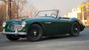 Austin Healey BN7 1959, frame-off renovation