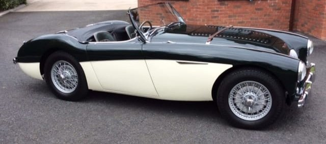 1956 AUSTIN HEALEY 100/4 BN2 For Sale (picture 2 of 6)
