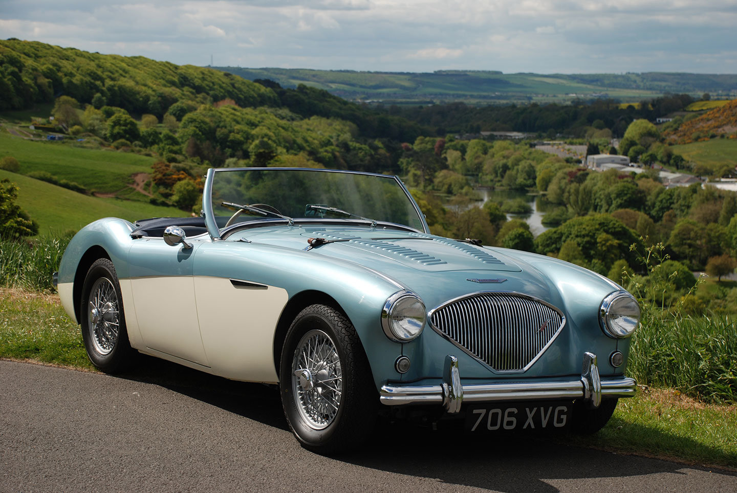 1955 Austin Healey 100/4 BN2 M Specification For Sale (picture 1 of 10)