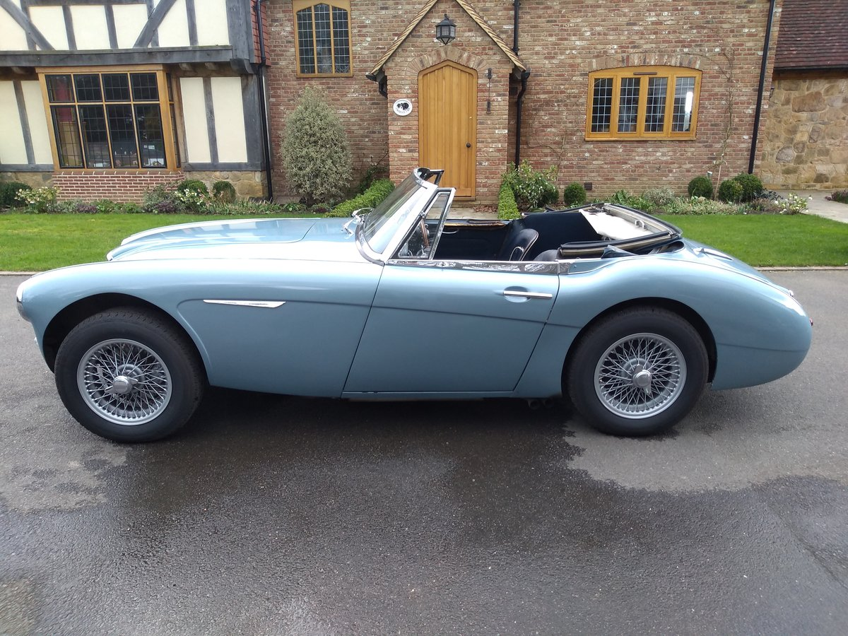 1963 Austin Healey 3000 Fast Road / Endurance / Rally For Sale (picture 4 of 6)