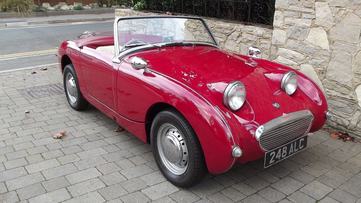 1960 AUSTIN-HEALEY FROGEYE SPRITE SOLD (picture 1 of 6)