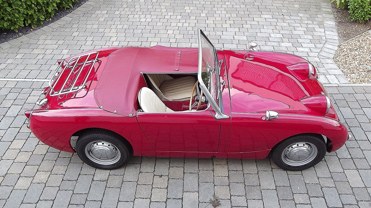 1960 AUSTIN-HEALEY FROGEYE SPRITE SOLD (picture 3 of 6)