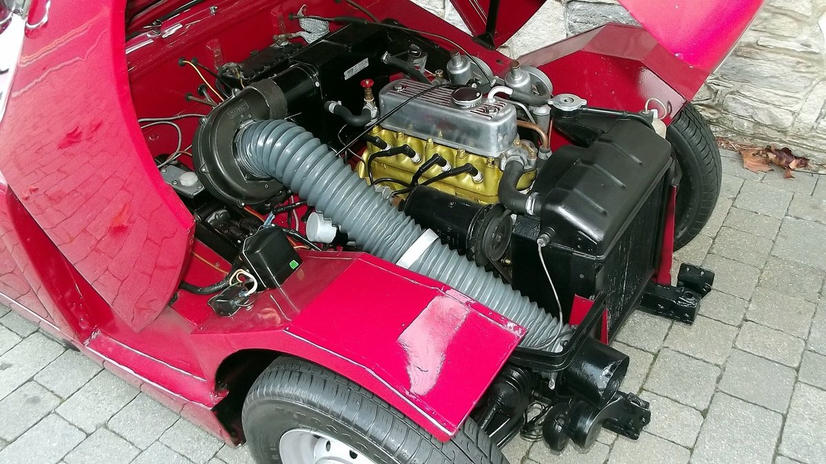 1960 AUSTIN-HEALEY FROGEYE SPRITE SOLD (picture 5 of 6)