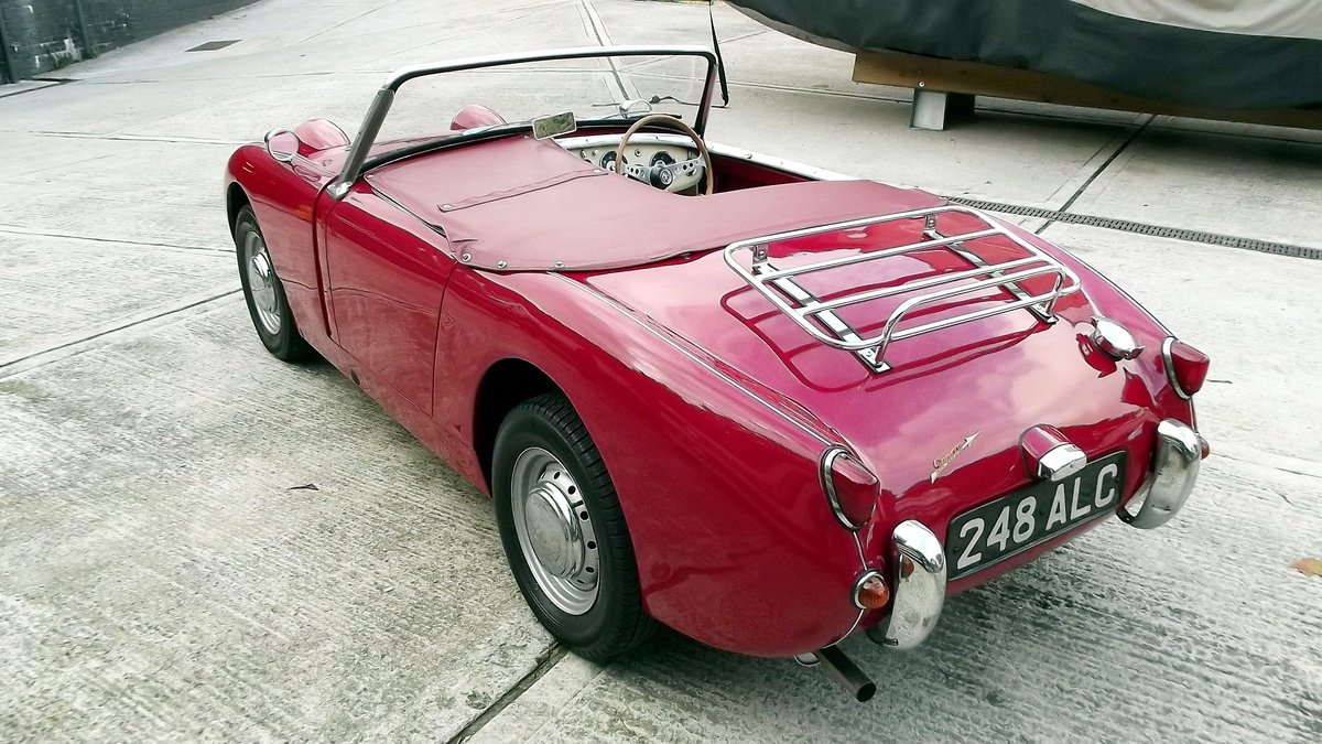 1960 AUSTIN-HEALEY FROGEYE SPRITE SOLD (picture 6 of 6)