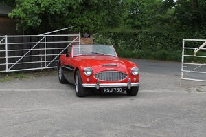 1958 Austin Healey 100-6 BN4, UK Matching No's, Superb History