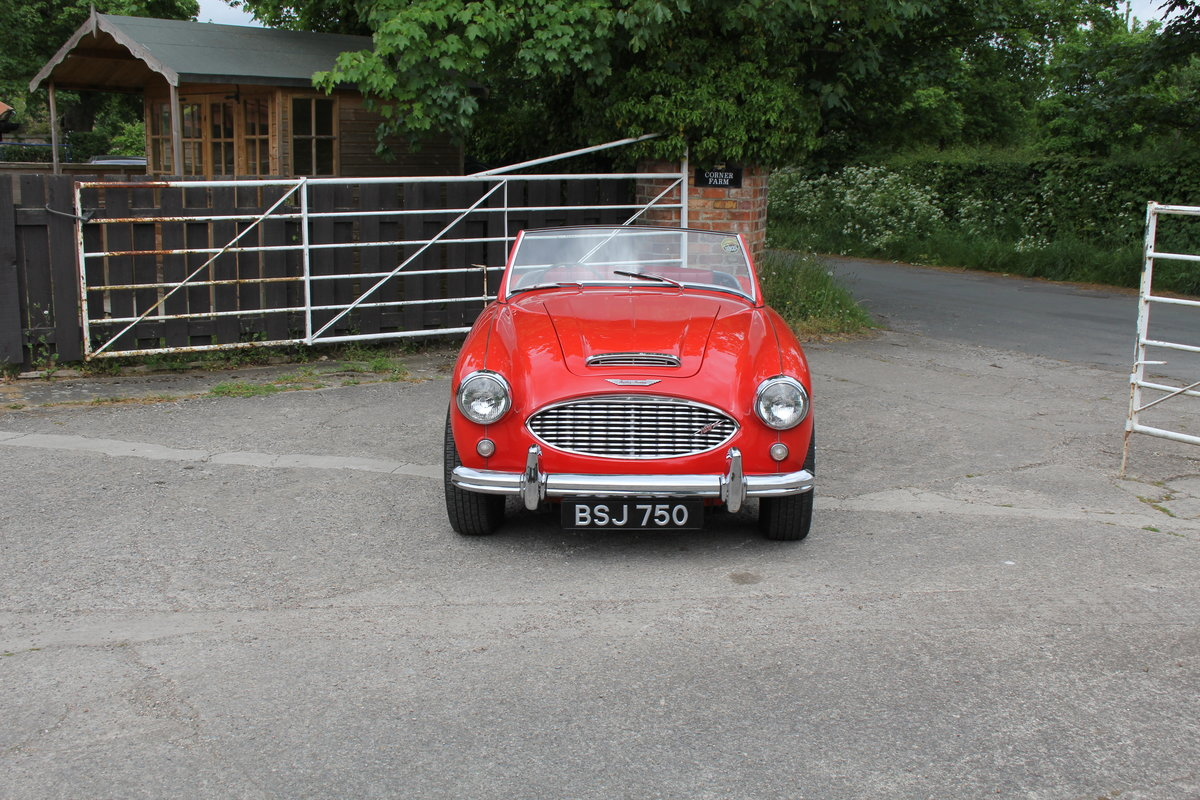 1958 Austin Healey 100-6 BN4, UK Matching No's, Superb History For Sale (picture 2 of 19)