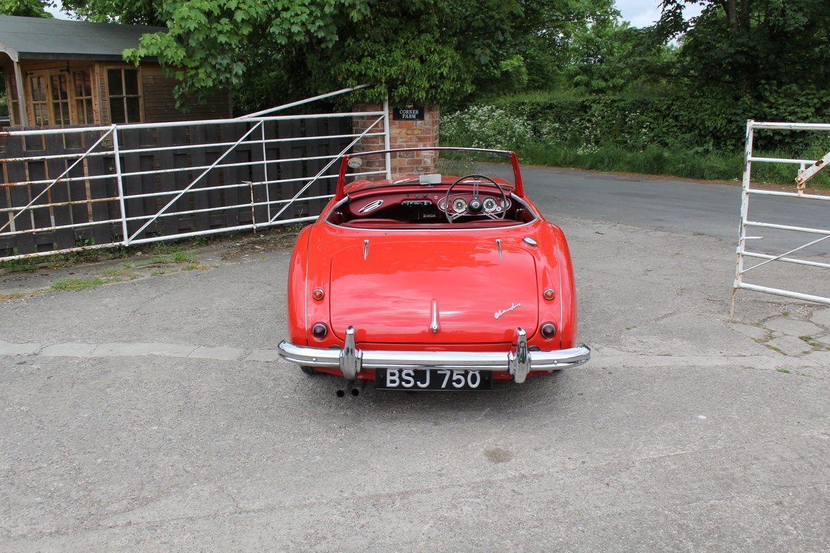1958 Austin Healey 100-6 BN4, UK Matching No's, Superb History For Sale (picture 5 of 19)