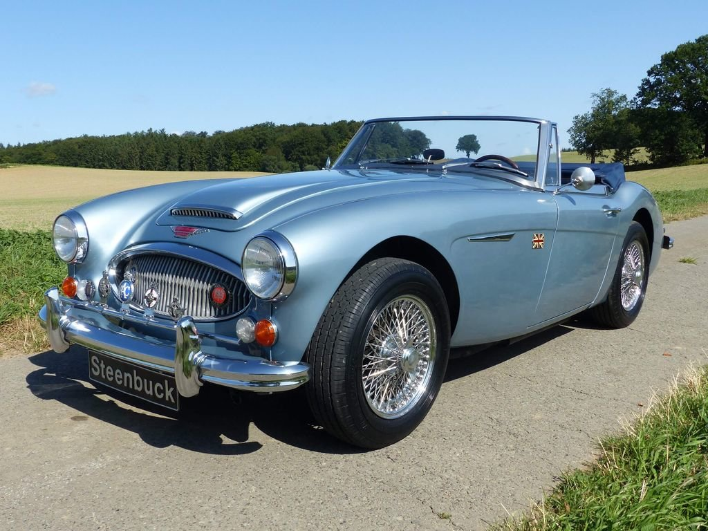 1967 Austin Healey MK III BJ 8 - broadly original convertible For Sale (picture 1 of 6)