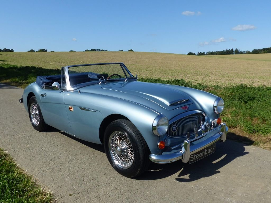 1967 Austin Healey MK III BJ 8 - broadly original convertible For Sale (picture 2 of 6)