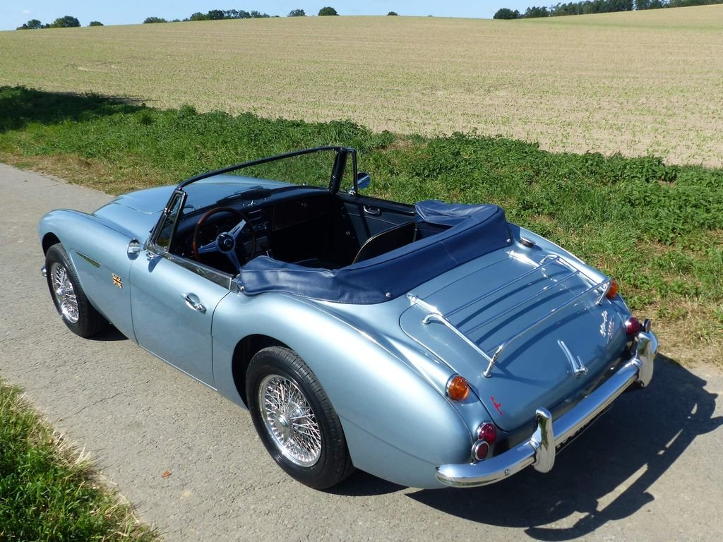 1967 Austin Healey MK III BJ 8 - broadly original convertible For Sale (picture 3 of 6)
