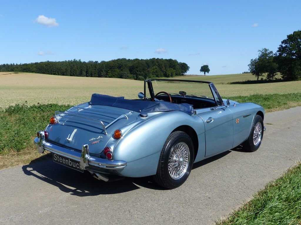 1967 Austin Healey MK III BJ 8 - broadly original convertible For Sale (picture 4 of 6)