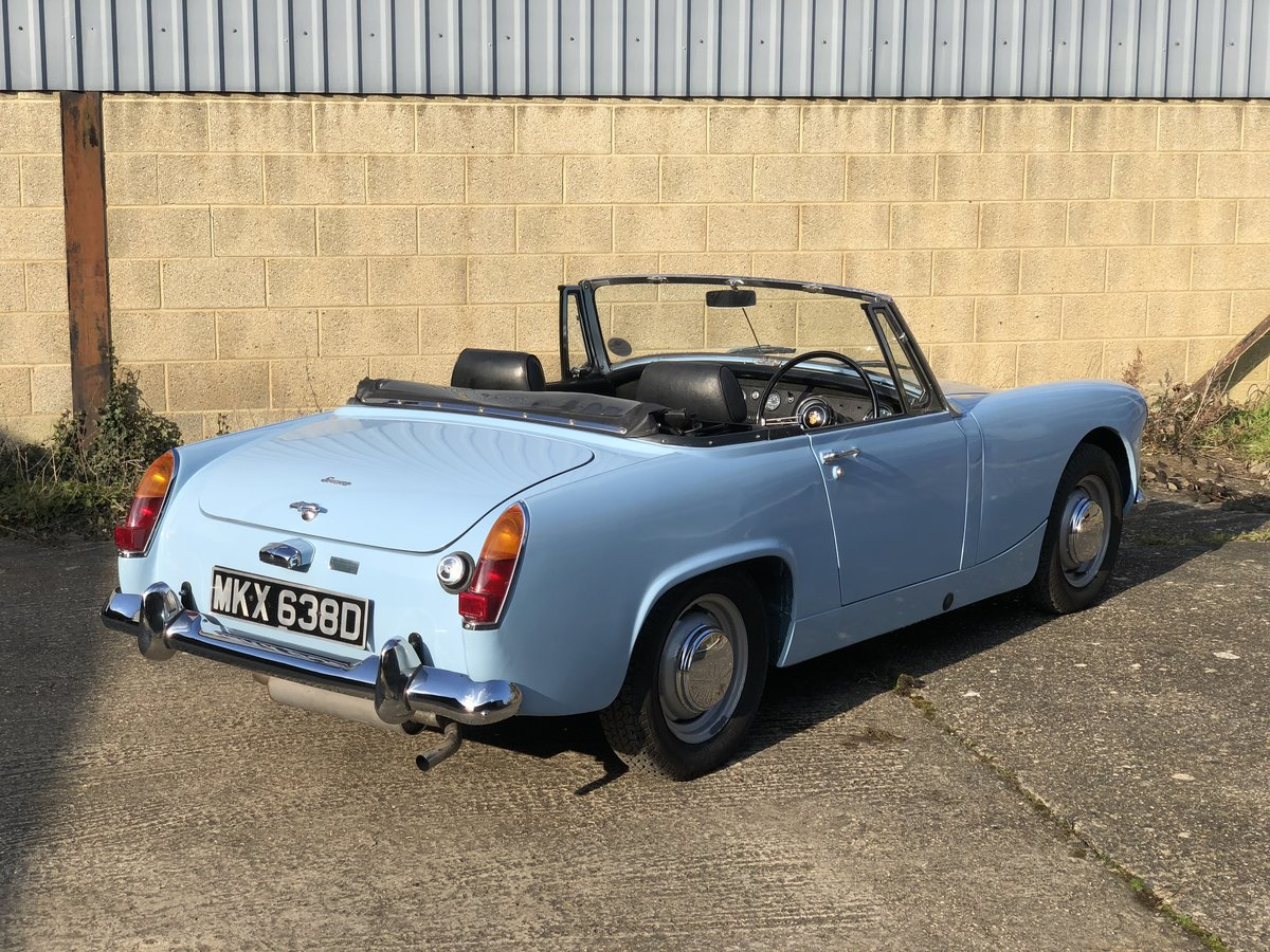 1966 For sale Austin Healey Sprite MkIII with Heritage bodyshell  For Sale (picture 3 of 6)