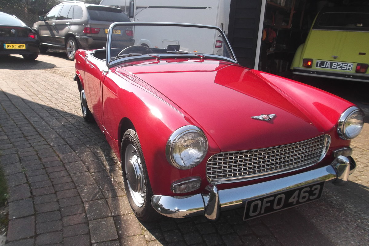 1963  AUSTIN  HEALEY SPRITE MK 2 For Sale (picture 1 of 6)