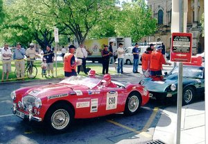 1955 Austin Healey Le Mans World Register