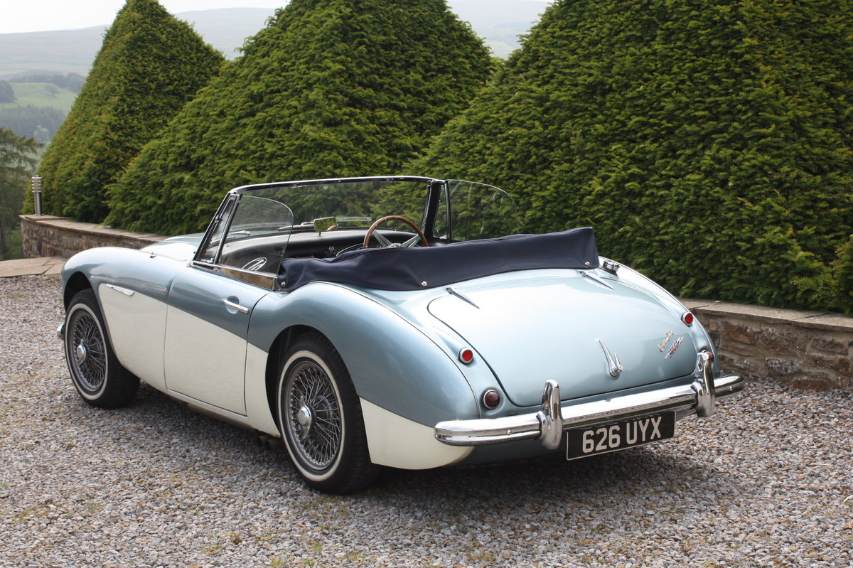 1962 Austin Healey 3000 MK11 BJ7   For Sale (picture 6 of 6)