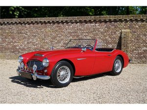 Austin Healey 3000 Mk1 Matching numbers and colours