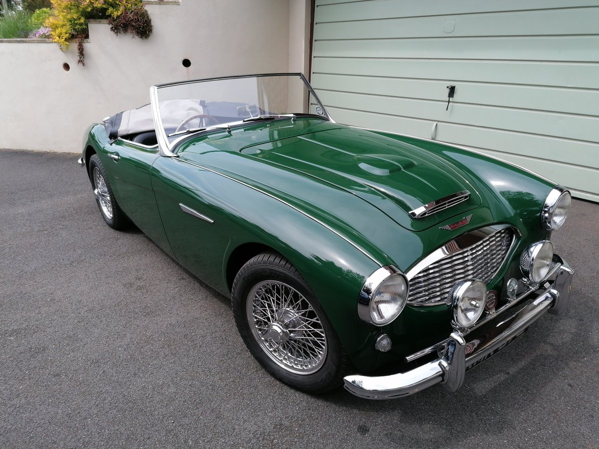 1958 Austin Healey 100/6 4 seater For Sale (picture 4 of 6)
