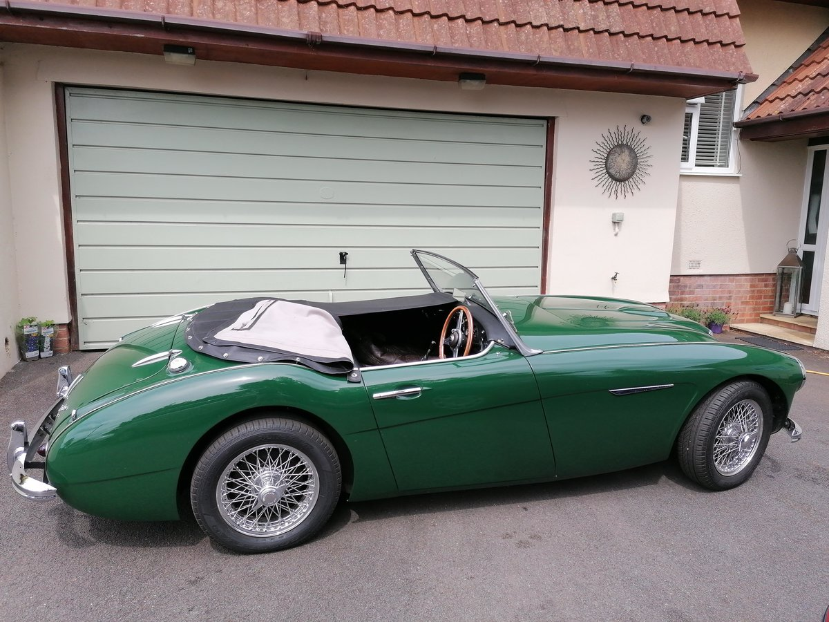 1958 Austin Healey 100/6 4 seater For Sale (picture 6 of 6)