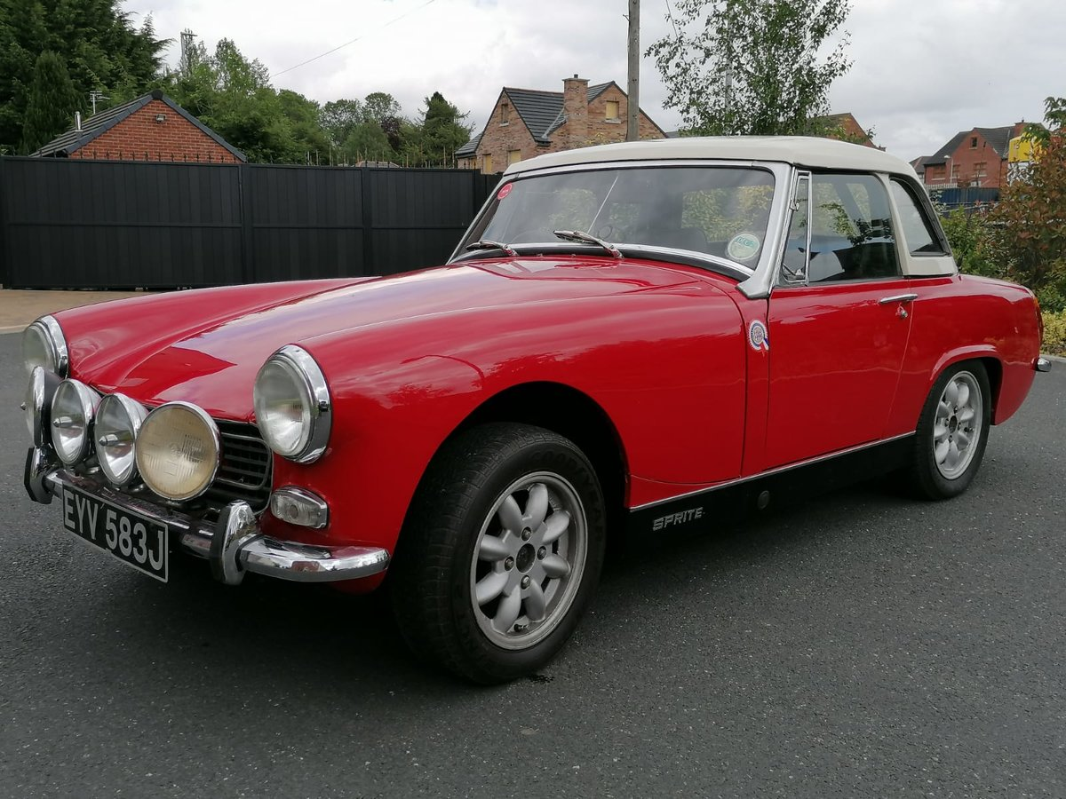 1971 Austin Healey Sprite 1275cc For Sale (picture 3 of 6)
