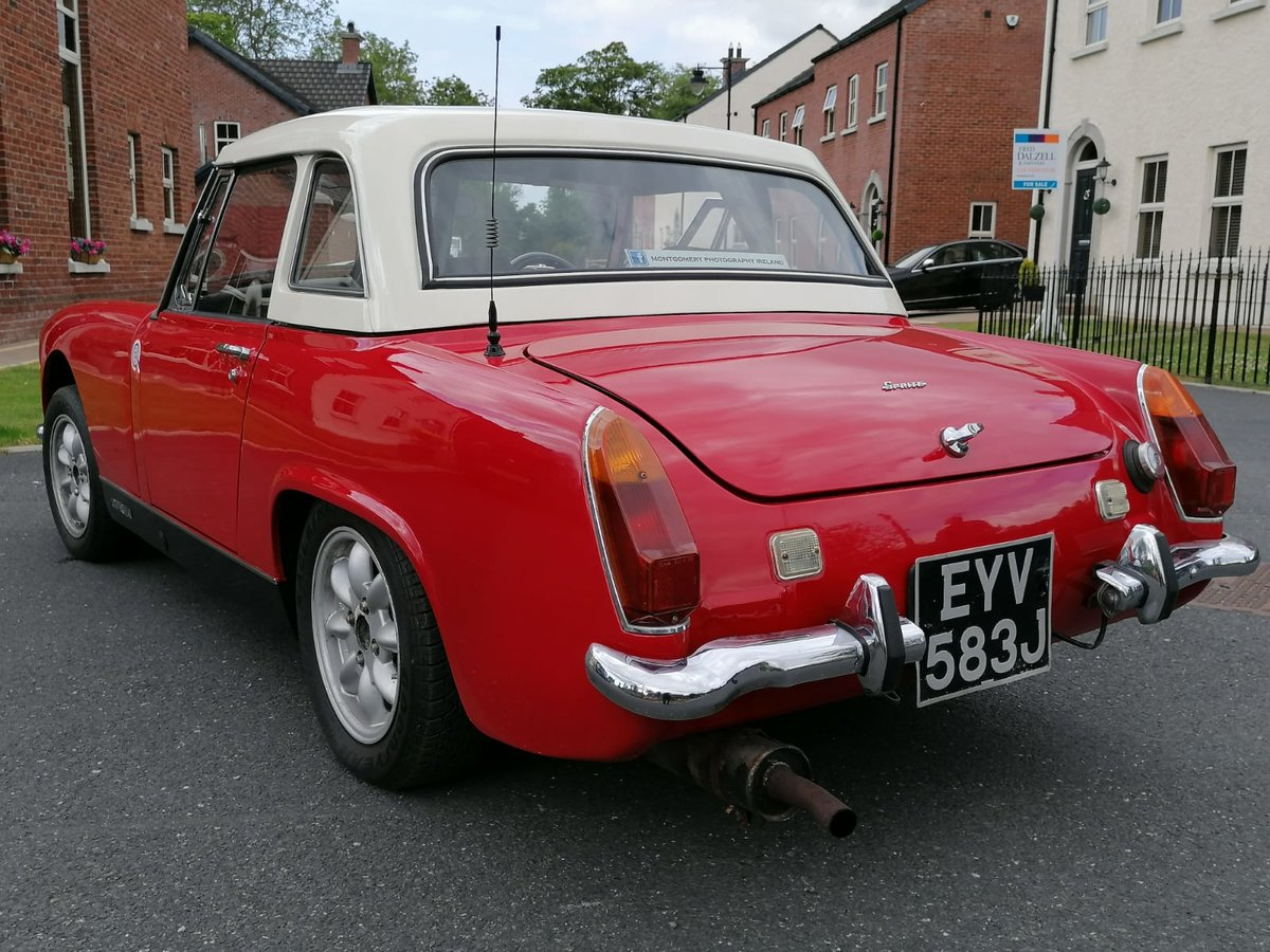 1971 Austin Healey Sprite 1275cc For Sale (picture 5 of 6)