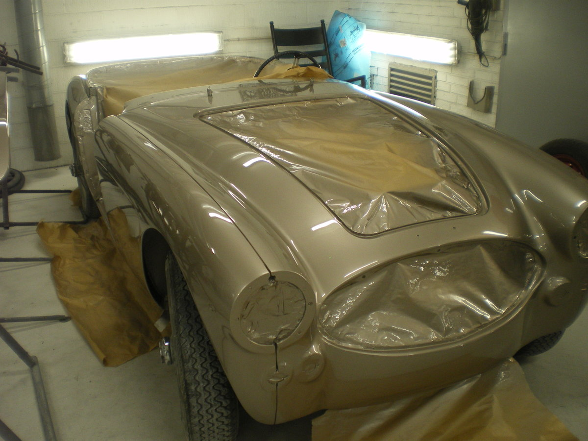 1967 Austin Healey 3000 in Gold For Sale (picture 4 of 6)