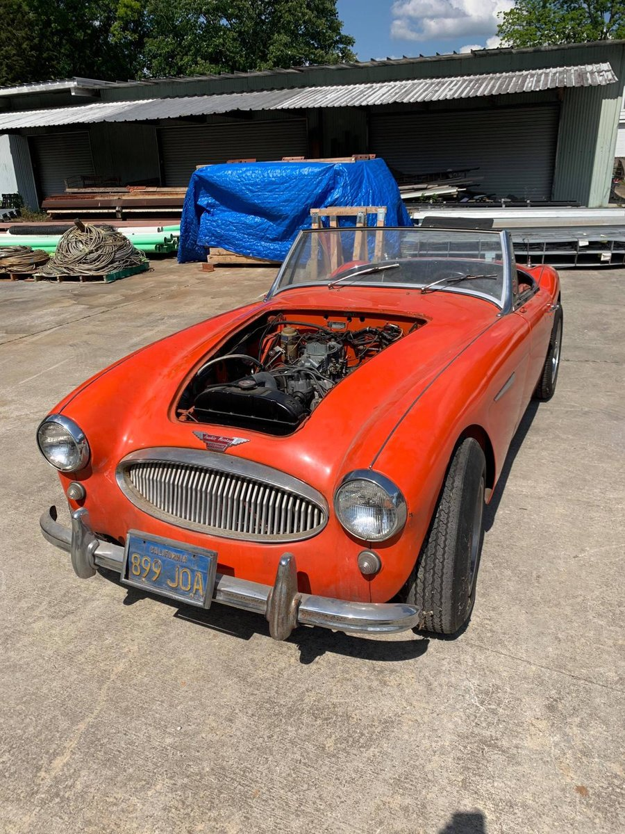 1959 For sale Austin Healey with a V8 Ford engine fitted.   SOLD (picture 2 of 6)