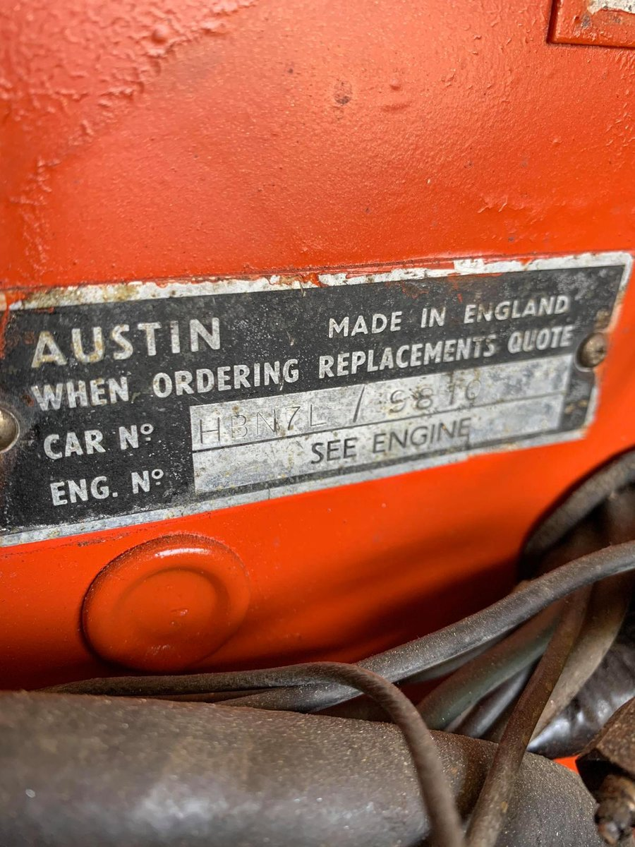 1959 For sale Austin Healey with a V8 Ford engine fitted.   SOLD (picture 5 of 6)