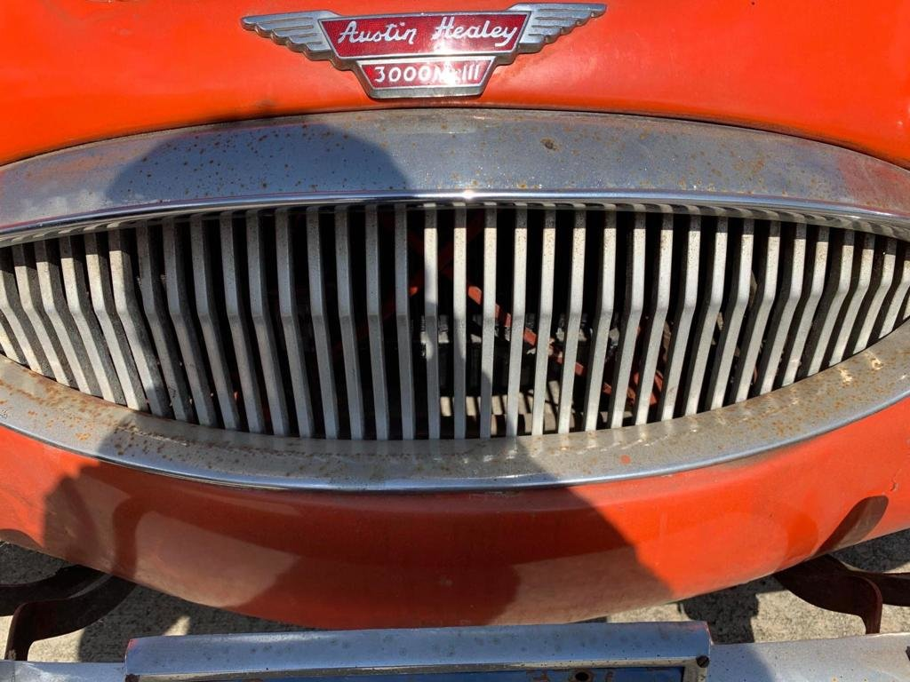1959 For sale Austin Healey with a V8 Ford engine fitted.   SOLD (picture 6 of 6)
