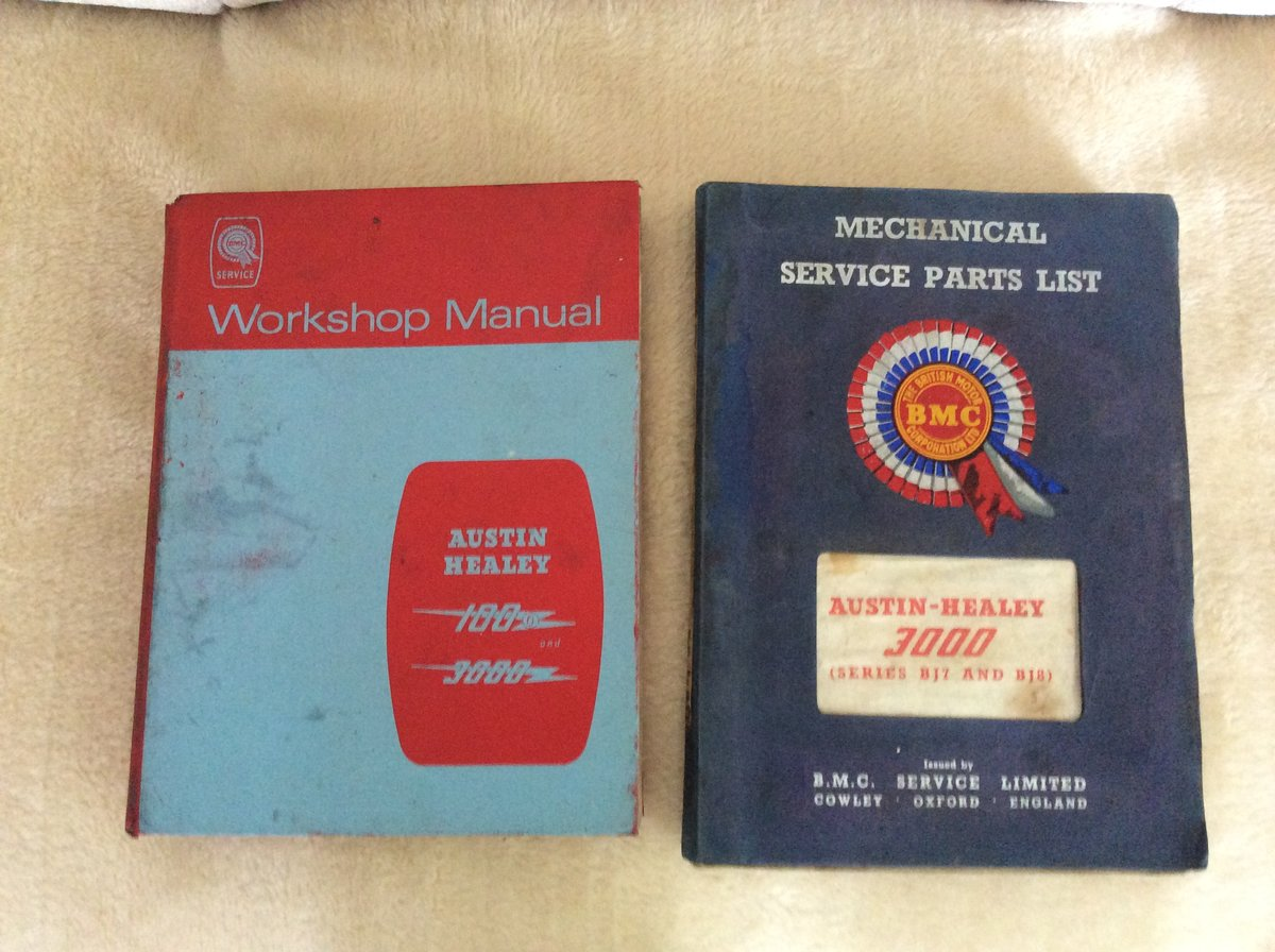 Workshop manual & BMC Parts manual For Sale (picture 1 of 1)