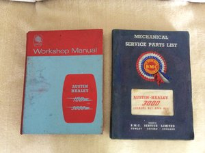 Workshop manual & BMC Parts manual