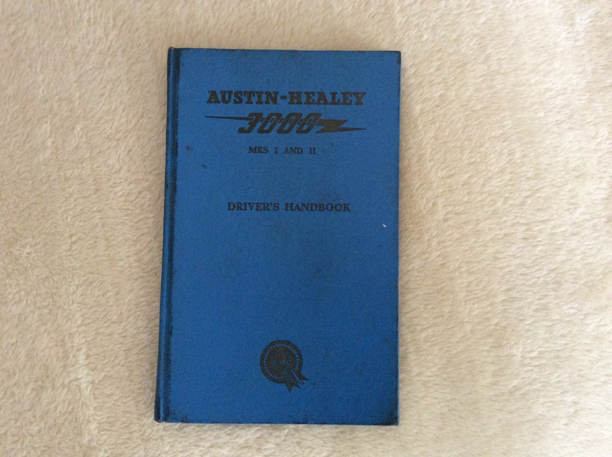 Austin Healey Drivers handbook For Sale (picture 1 of 1)