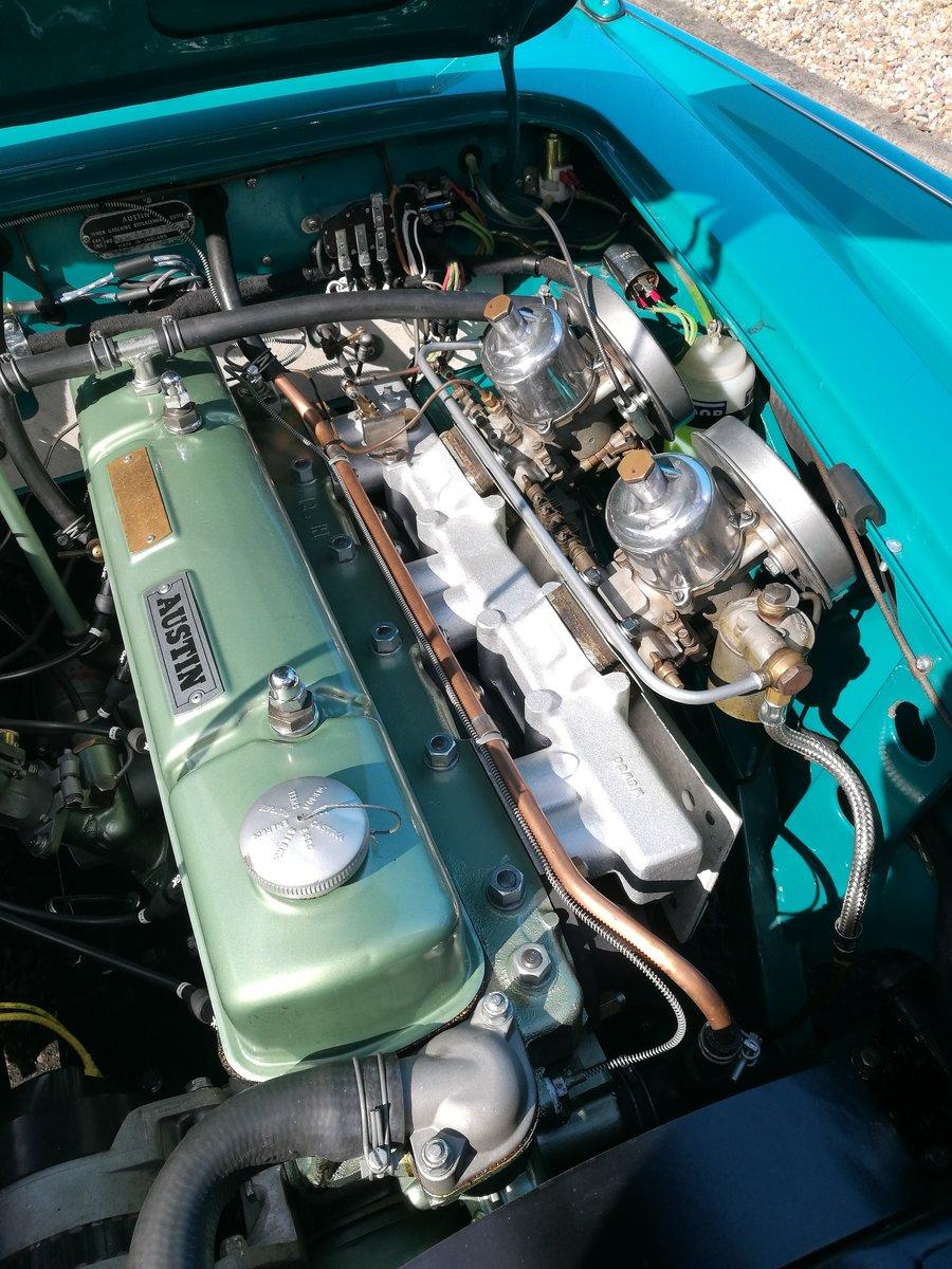 1958 Austin Healey ORIGINAL RHD RESTORED 100/6 For Sale (picture 4 of 6)