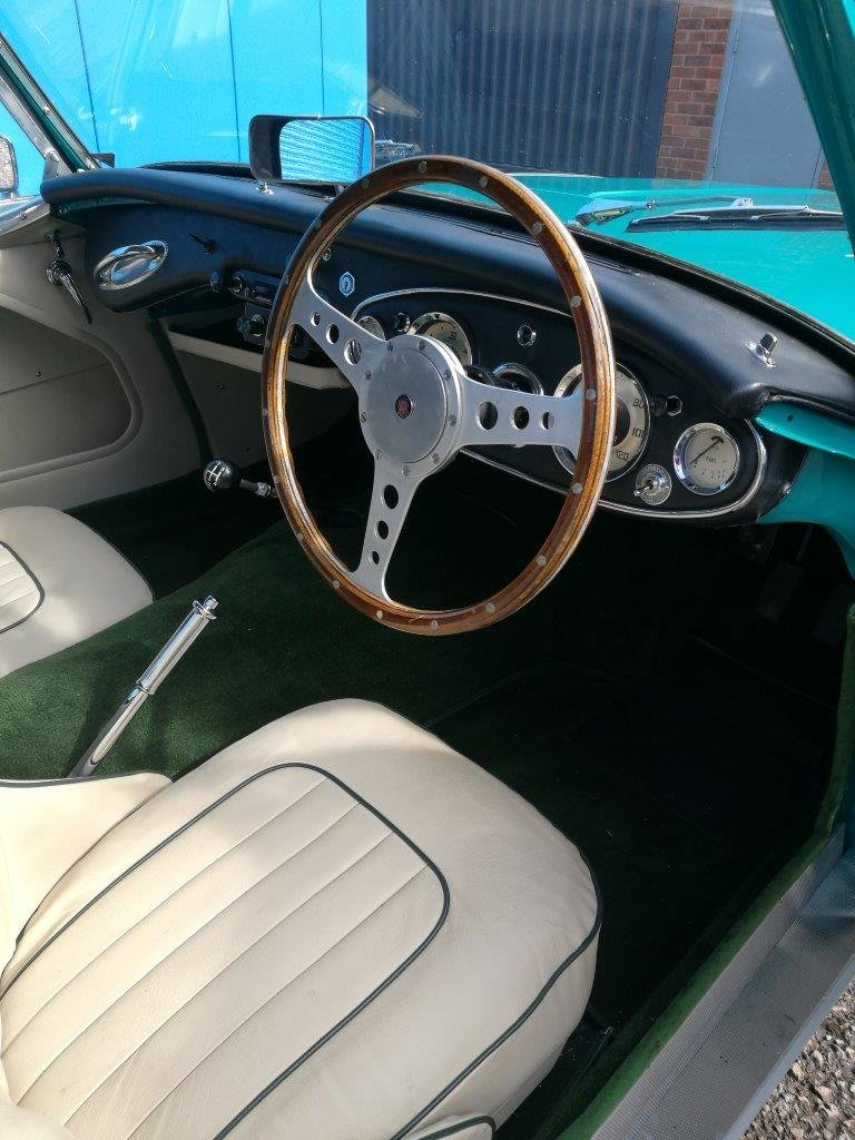 1958 Austin Healey ORIGINAL RHD RESTORED 100/6 For Sale (picture 5 of 6)