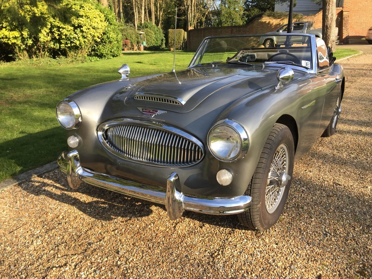 1965 Austin Healey 3000 BJ8 For Sale (picture 2 of 6)