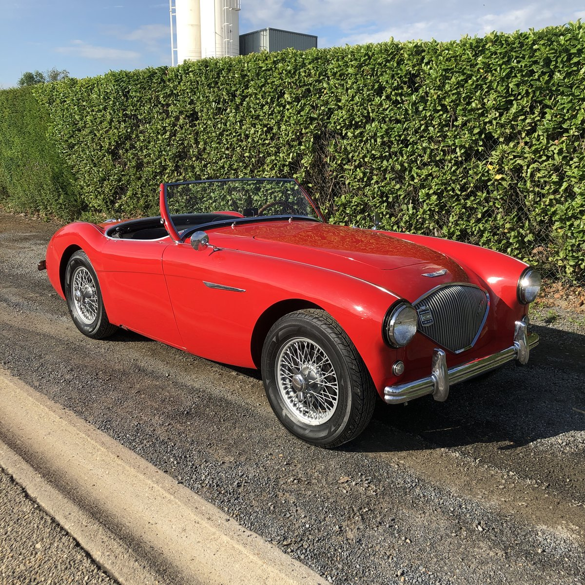 1955 Austin Healey 100/4 BN2 LHD For Sale (picture 1 of 6)