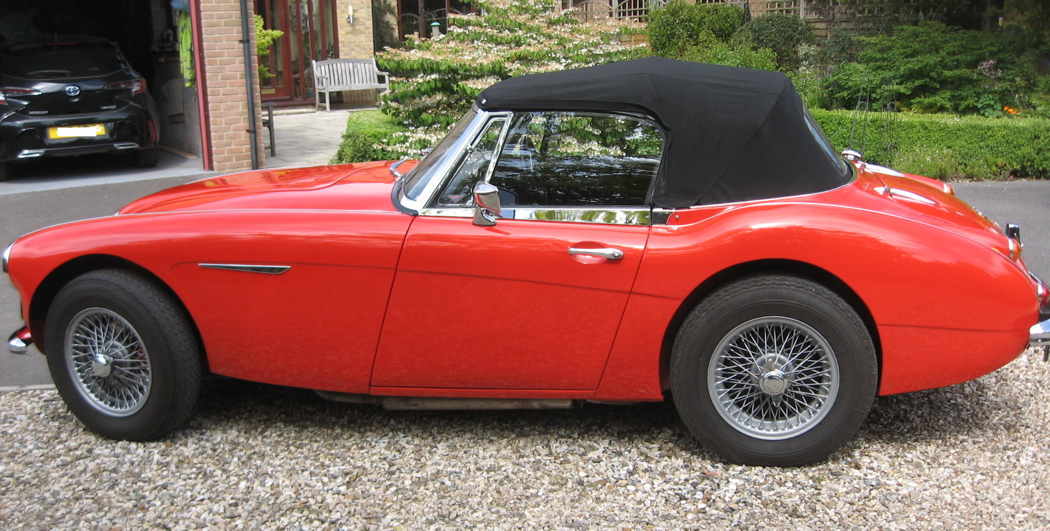 1966 Austin Healey Mk3 BJ8 fast road eng For Sale (picture 4 of 6)