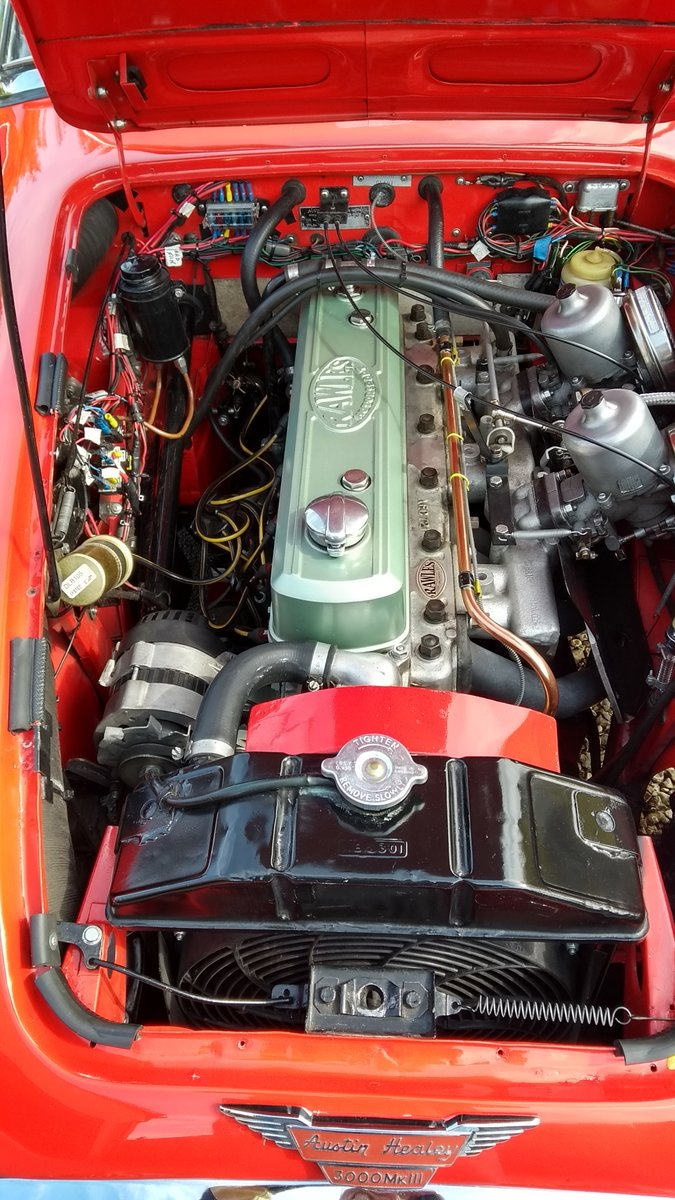 1966 Austin Healey Mk3 BJ8 fast road eng For Sale (picture 6 of 6)