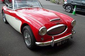 1962 Austin Healey 3000 MK2 nut and bolt re-build rhd
