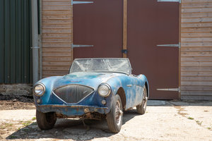 1955 Barn Find Austin Healey 100 | Original Healey Blue