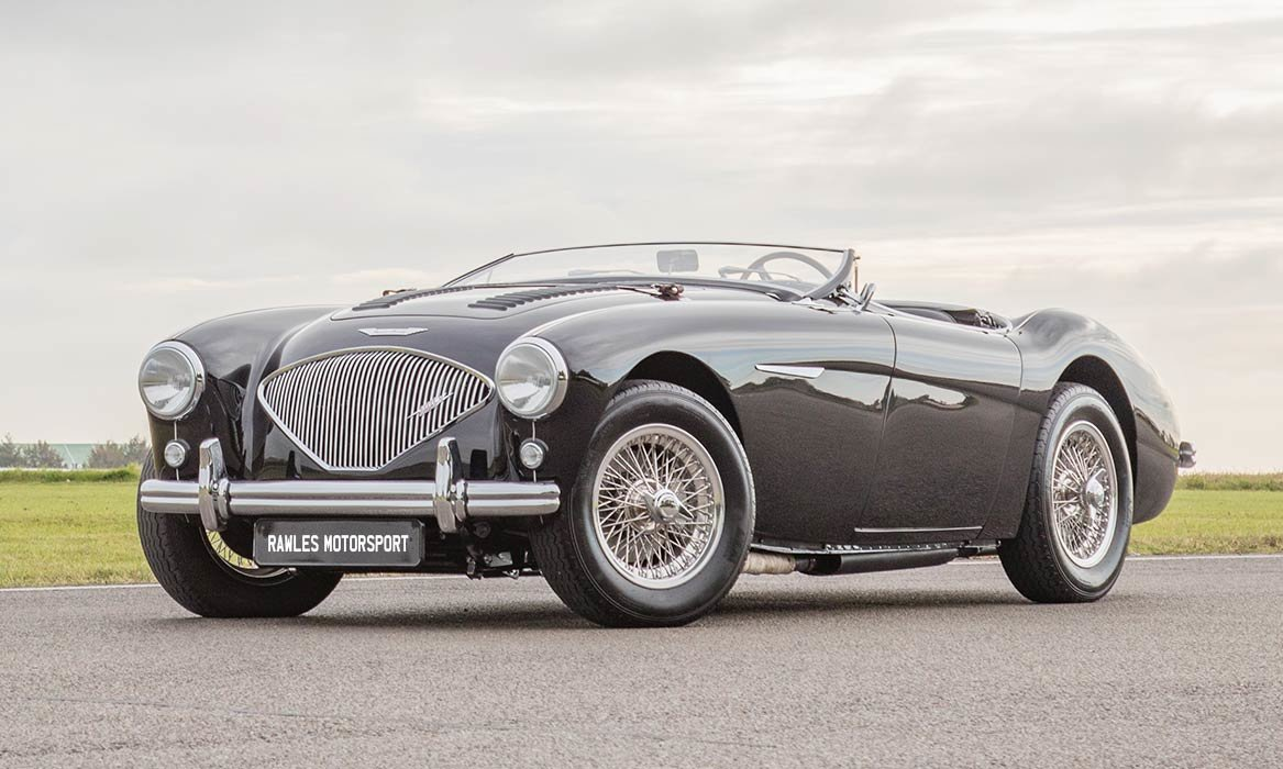 1955 Barn Find Austin Healey 100 | Original Healey Blue For Sale (picture 5 of 6)