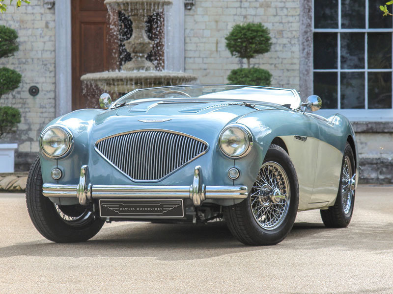1955 Barn Find Austin Healey 100 | Original Healey Blue For Sale (picture 6 of 6)