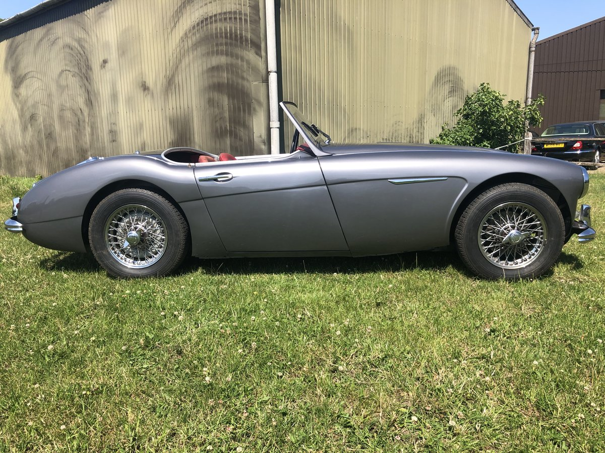 1958 RHD Austin Healey 100/6 2 Seater SOLD (picture 3 of 5)