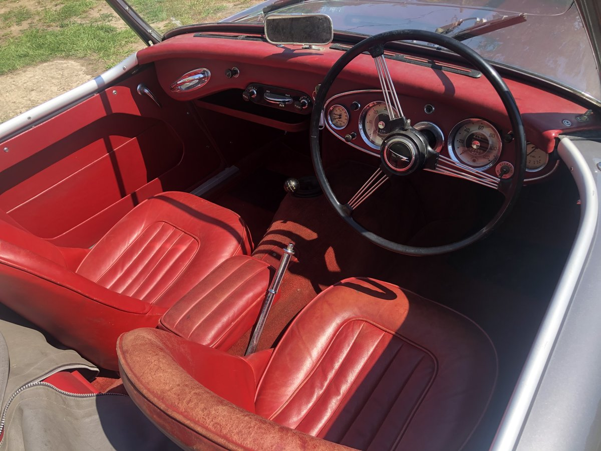 1958 RHD Austin Healey 100/6 2 Seater SOLD (picture 5 of 5)