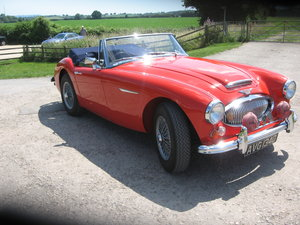 1966  Austin Healey 3000 BJ8 fast road eng