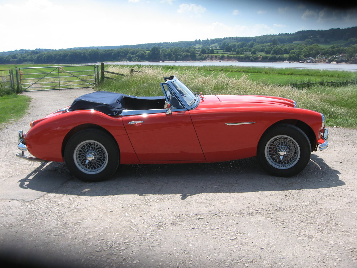 1966 Austin Healey Mk3 BJ8 fast road eng For Sale (picture 3 of 6)