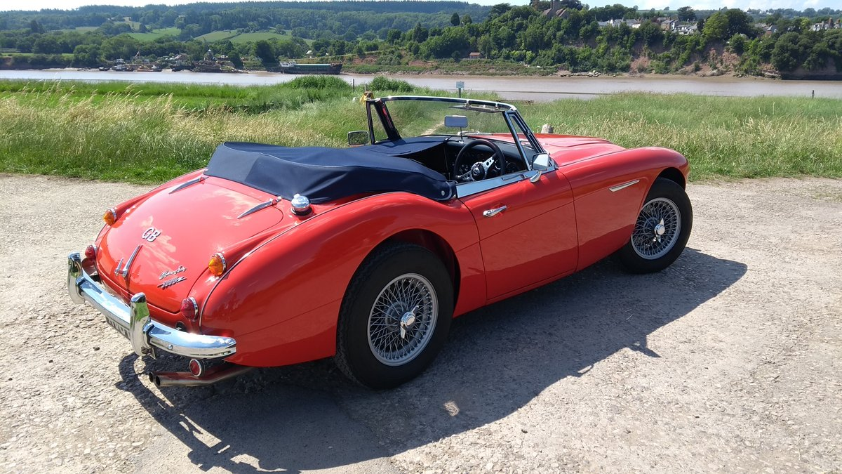 1966 Austin Healey Mk3 BJ8 fast road eng For Sale (picture 2 of 6)