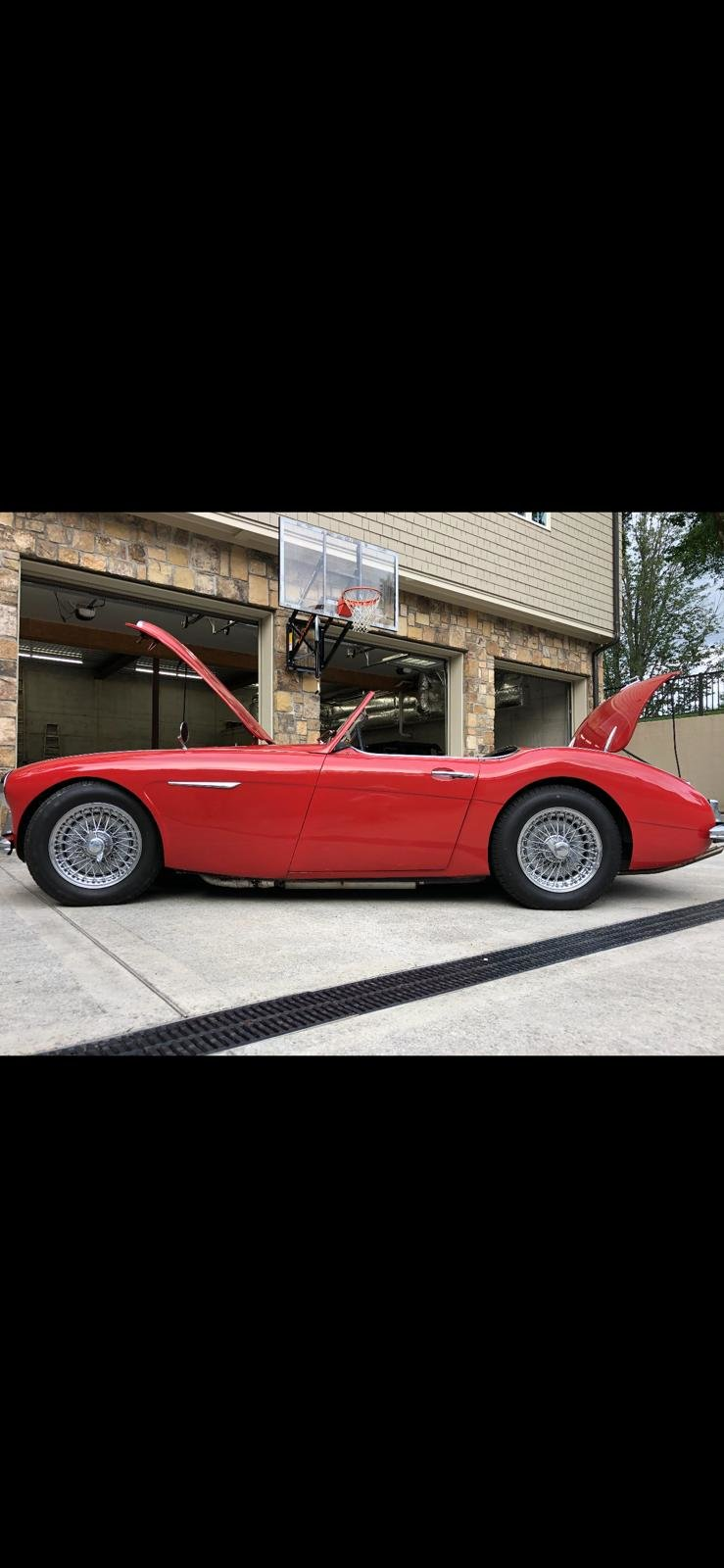 1959 Excellent Austin Healey BN6 2 seater  For Sale (picture 1 of 6)