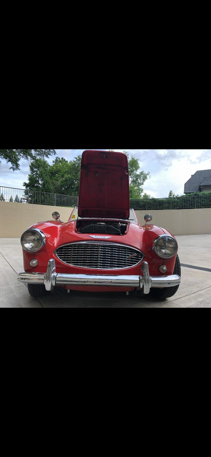 1959 Excellent Austin Healey BN6 2 seater  For Sale (picture 3 of 6)
